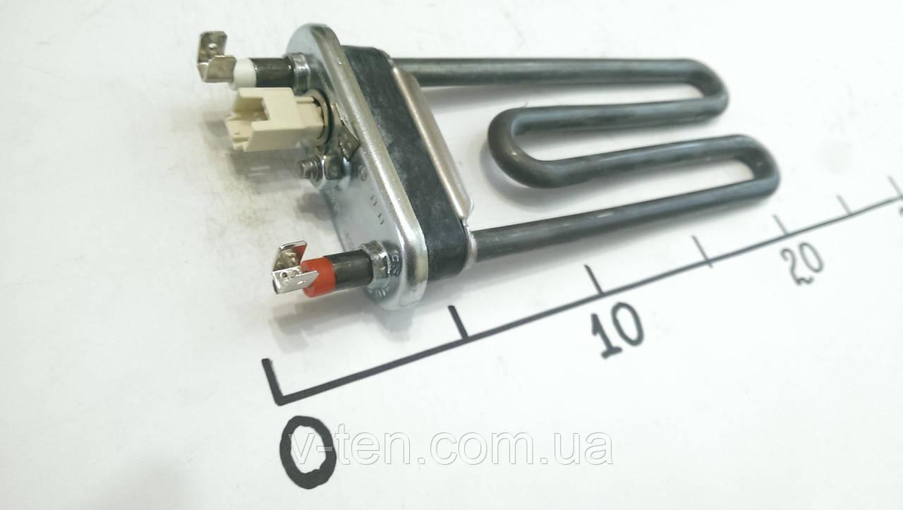 ТЭН для стиральной машины 1600w L-180 с датчиком Thermowatt (Италия)