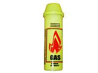 Газ для зажигалок - Желтый пластик 100 мл