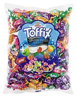 Жевательные конфеты Toffix (фрукт.микс 6 вкусов) Elvan 1 кг, фото 1
