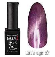 Гель лак GGA Professional Cat's Eye 37