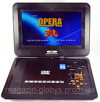 Портативный TV DVD проигрыватель с  10 дюймовым  экраном
