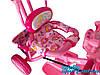 Велосипед детский трехколесный Princess (розовый), фото 3