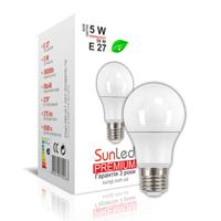"""Светодиодная лампа """"SUNLED"""" Premium """"SUNGI"""" 5Вт E27"""