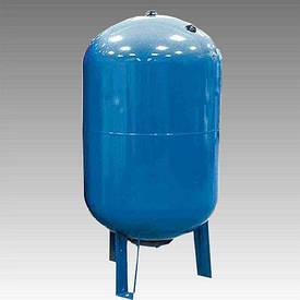 Гідроакумулятор горизонтальний AQUASYSTEM VAV 100 для систем водопостачання.