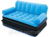 Купить надувной диван - матрас Bestway. Велюровый Раскладной трансформер 5 в 1