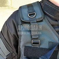 Тактический разгрузочный жилет (ПОЛIЦIЯ) BLACK, фото 6
