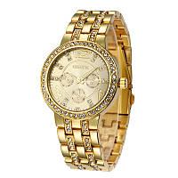Женские часы Geneva Crystal Gold
