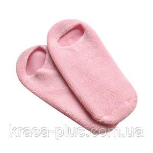Увлажняющие силиконовые носочки на гелевой основе с пропиткой «Мягкие пяточки» - 1 пара