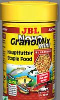 JBL Novo GranoMix mini RF 5,5л./2400g  основной гранулир. корм для небольших аквар. рыб