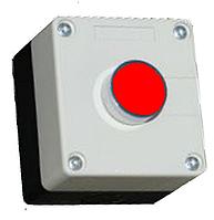 Пост кнопочный одноместный (1 красная кнопка)