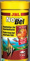 Корм в виде хлопьев для всех аквариумных рыб эконом упаковка JBL NovoBel Refil Pack 750мл.130гр