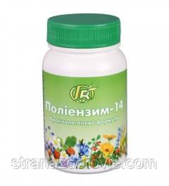 Полиэнзим-14 — 140 р — бронхолегенева формула - Грін-Віза, Україна