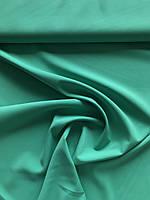 Креп костюмка Барби зелёный