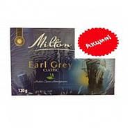 ЧАЙ ЧЕРНЫЙ MILTON EARL GREY CLASSIC, 120Г, фото 1