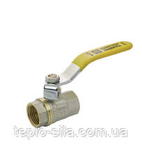 Кран шаровый АБ 1/2'' (15 мм) ВВ газ ручка