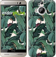 """Чехол на HTC One M9 Plus Банановые листья """"3078u-134"""""""
