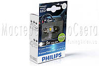 Лампа светодиодная Philips Festoon Vision LED T10.5x43, 4000K, 1 шт / блистер 129454000KX1
