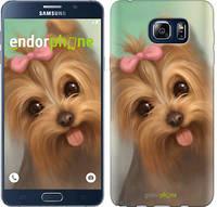 "Чехол на Samsung Galaxy Note 5 N920C Нарисованный йоркширский терьер ""928u-127"""