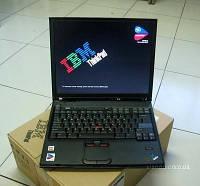 Ноутбук IBM T42 — 1,6GHz, 256mb-ОЗУ, 30 gb, WIFI, (COM LPT ports) видео 1024х768, Отпечаток пальца