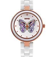 Женские часы Skmei Ceramic