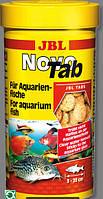 Корм JBL Джбл Novo Tab 1000мл/650g корм в виде таблеток для всех аквариумных рыб