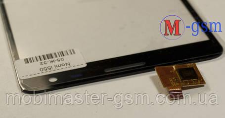 Сенсор (тачскрин) для телефона Nomi i550 черный, фото 2