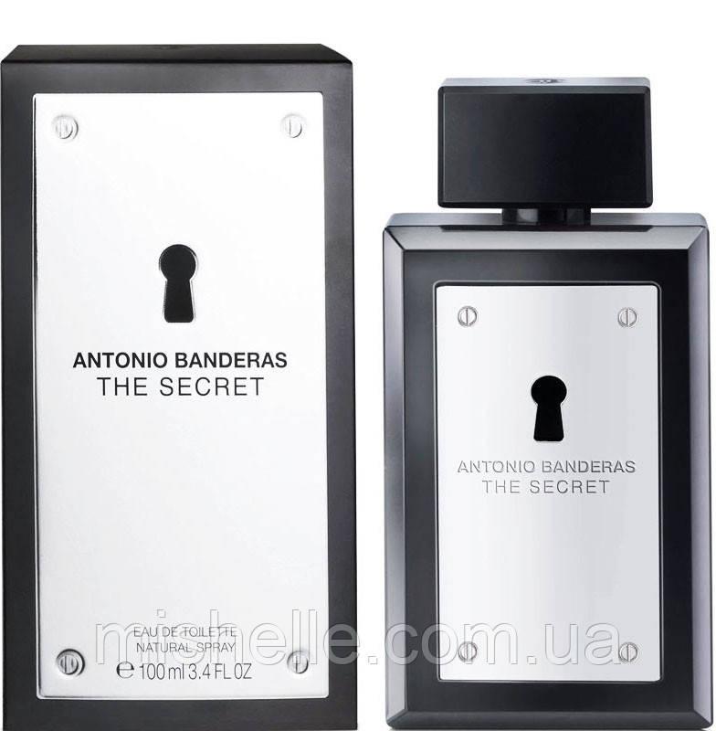 Мужская парфюмированная вода Antonio Banderas The Secret (Антонио Бандерас Зе Сикрет) копия