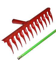 Грабли витые 12 зубов 2,5 мм (порошковая покраска)