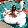 Modarina Надувной матрас Белый лебедь 150 см