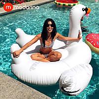 Надувной матрас Modarina Белый лебедь 150 см PF3358