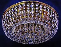 Хрустальная потолочная LED люстра P5-E0966/8 (FG)