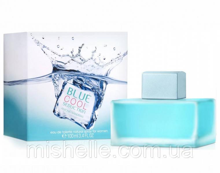 Парфюмированная вода для женщин Antonio Banderas Blue Cool Seduction (Антонио Бандерас Блю Кул Седакшн) копия