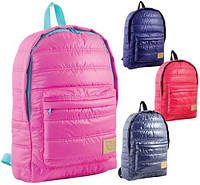 Рюкзак подростковый 39*28*9см ST-15 в асорт сирен красн фиолетов розов