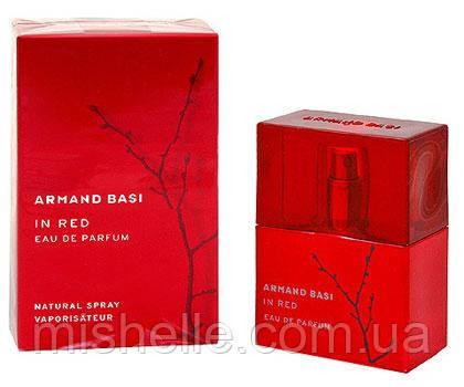 Женская парфюмированная вода Armand Basi In Red Parfum (Арманд Баси Ин Ред Парфюм) реплика