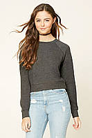 Пуловер серый женский свитер реглан Forever 21