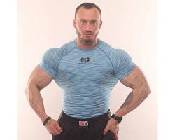 Компресс. футболка Sportfaza Blue-White S