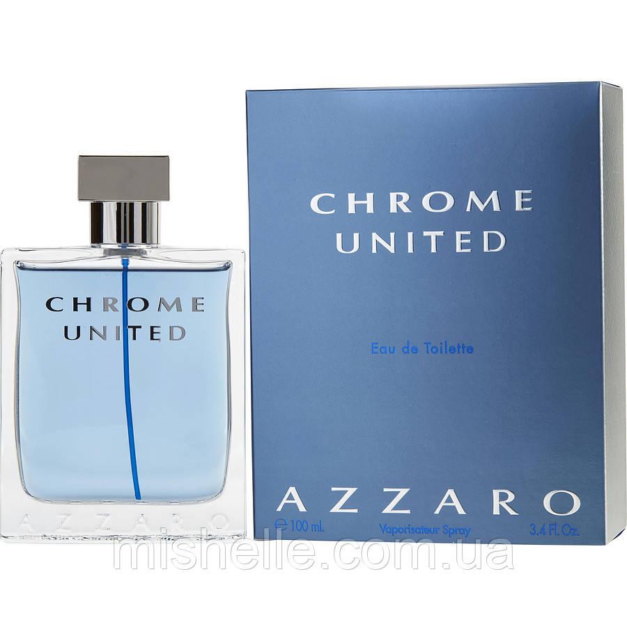 Туалетная вода для мужчин Azzaro Chrome United (Аззаро Хром Юнайтед) реплика