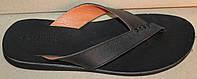 Мужские шлепки кожаные, летняя мужская обувь от производителя модель ТР109