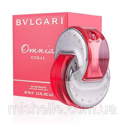 Туалетная вода для женщин Bvlgari Omnia Coral (Булгари Омния Корал) реплика