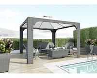 Балдахин Роял Серый, шатёр, тент, павильон, навес, мебель для сада, мебель для бассейна, шатер для ресторана