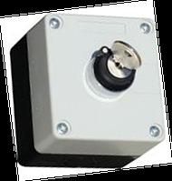 Пост кнопочный командоаппаратный 2-х позиционный с ключом
