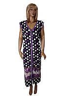 Цветной халат большого размера (летний) Sinem №00027, фото 1