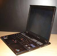 Ноутбук IBM T42 — 1,6GHz, 256mb-ОЗУ, 6 gb, (COM LPT ports) видео 1024х768, Отпечаток пальца
