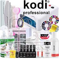 """Стартовый набор """"Kodi Professional LUX"""" с УФ лампой 818 на 36 Вт (Топ и База по 8 мл.)"""