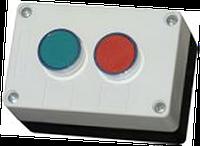 """Пост кнопочный двухместный """"Старт-Стоп""""  (1красная, 1 зелёная)"""