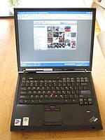 Ноутбук IBM T42 — 1,6GHz, 1gb-ОЗУ, 160 gb, WIFI, (COM LPT ports) видео 1024х768, Отпечаток пальца 6ч