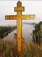 Резной крест,могильный.