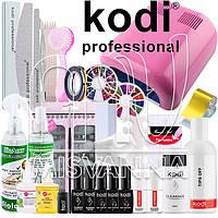"""Стартовый набор """"Kodi Professional LUX"""" с УФ лампой 230 на 36 Вт (Топ и База по 8 мл.)"""