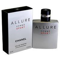 Мужская парфюмированная вода 100 мл. Chanel Allure Homme Sport - Шанель Аллюр Хом Спорт