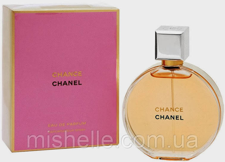 женская парфюмированная вода 100 мл. Chanel Chance (Шанель Шанс) реплика